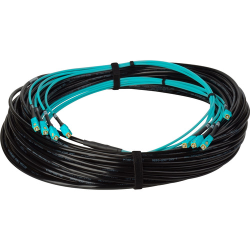 Camplex Four-Channel SC Multimode Fiber Optic Snake (250')