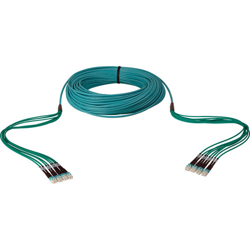 Camplex 8-Ch LC Multimode OM3 Tactical Fiber Snake Cable (1000 ft)