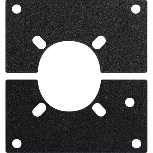 Camplex Canare & LEMO SMPTE Plug & Jack Panel Mount for HY45 System (Split Frame)