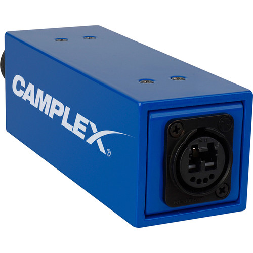 Camplex Passive/No Power SMPTE 311M Male to Neutrik OpticalCON DUO Fiber Optic Adapter