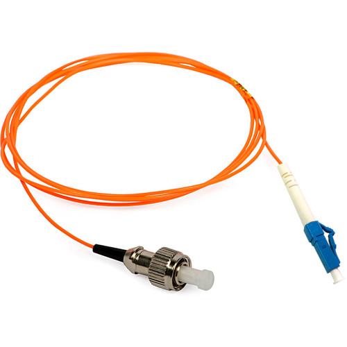 Camplex Duplex ST to Duplex LC Multimode Fiber Optic Patch Cable (32.8', Orange)