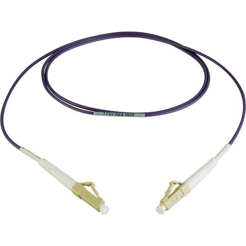 Camplex Simplex LC to Simplex LC Multimode Fiber Patch Cable (16.4', Purple)