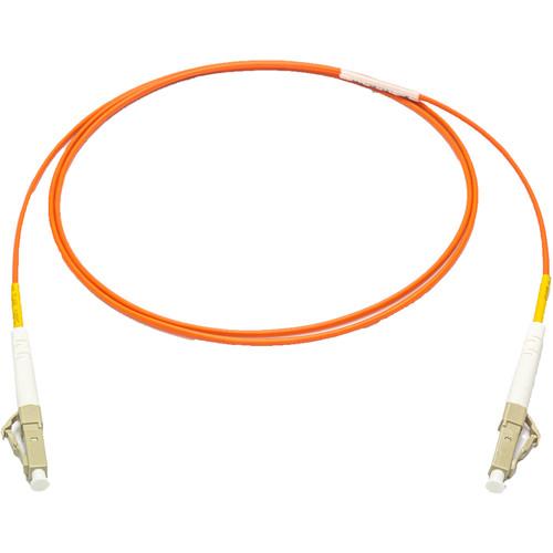 Camplex 62/125 Multimode Simplex LC to LC Armored Fiber Optic Patch Cable (16.4', Orange)