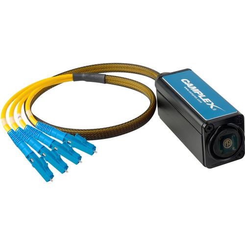 Camplex OPADAP-6 opticalCON DUO to Duplex ST Breakout Adapter (Singlemode)