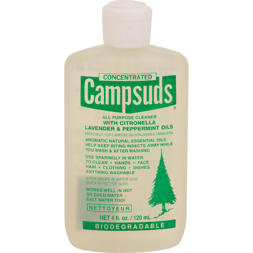 Campsuds All-Purpose Liquid Cleaner with Citronella, Lavender, & Peppermint Oil (4 oz)