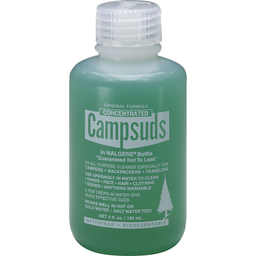 Campsuds Original All-Purpose Liquid Cleaner in Nalgene Bottle (4 oz)