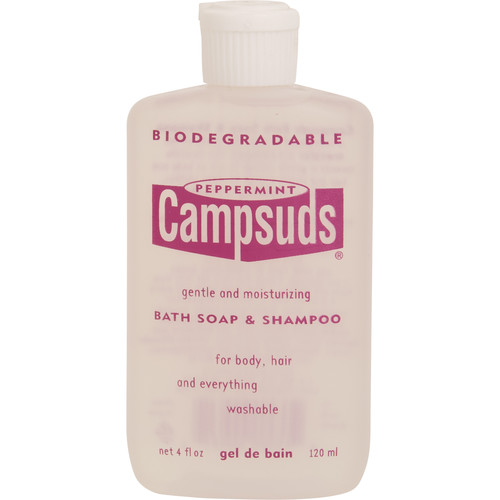 Campsuds Bath Soap & Shampoo Formula (4 oz, Peppermint)