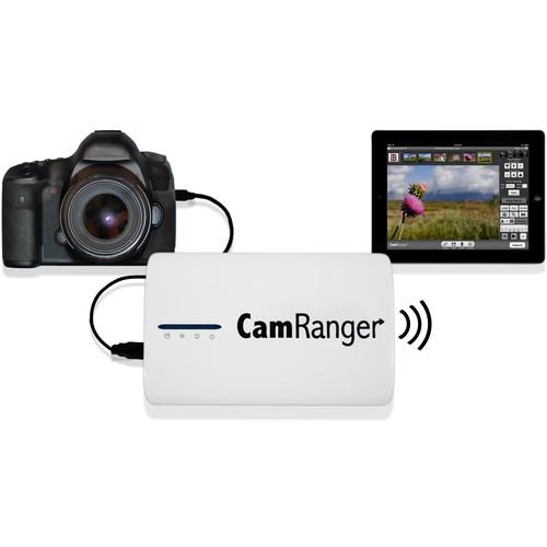 CamRanger CamRanger Wireless Transmitter Kit with Extra Battery for Select Canon and Nikon DSLRs