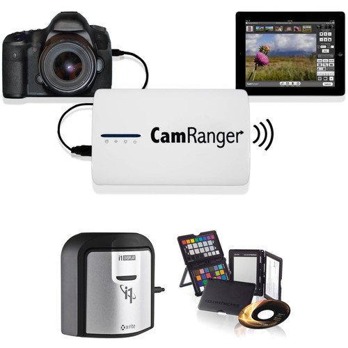 CamRanger CamRanger Wireless Transmitter Kit with X-Rite i1Display Pro and ColorChecker Passport