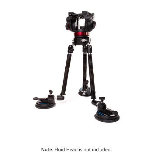 Camtree G-51 Gripper Campod Suction Cup Car Mount