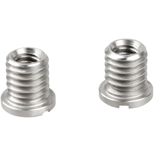 """CAMVATE 1/4""""-20 Female to 3/8""""-16 Male Screw Adapter for Tripod (2-Pack)"""