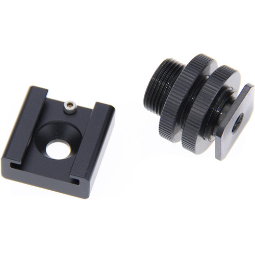 "CAMVATE C1008 1/4""-20 Mount to Cold Shoe or 5/8""-27 Screw Adapter"