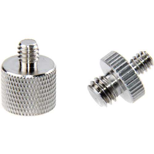"""CAMVATE 3/8""""-16 (F) To 1/4""""-20 (M) And 1/4""""-20 (M) To 3/8""""-16 (M) Screw Adapter Set"""