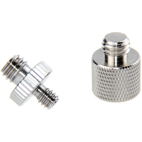 """CAMVATE 1/4""""-20 (F) to 3/8""""-16 (M) and 1/4""""-20 (M) to 3/8""""-16 (M) Screw Adapter Set"""
