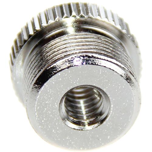 "CAMVATE 5/8""-27 Male to 1/4""-20 Female Microphone Screw Adapter"