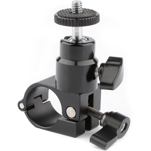 CAMVATE Monitor Mount for Gimbal with 25mm Rod (Black Knob)