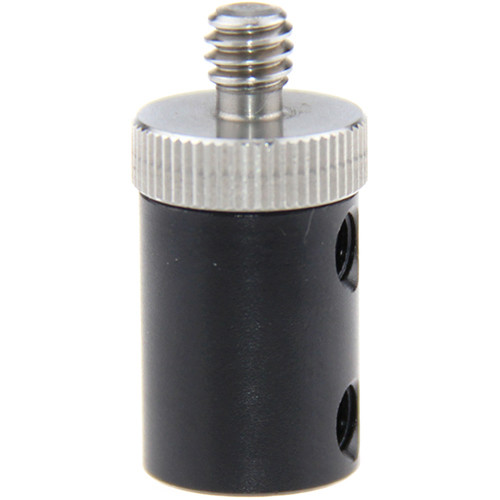 """CAMVATE 15mm Micro Rod Stud with 1/4""""-20 Threads with 1/4""""-20 Male Adapter"""