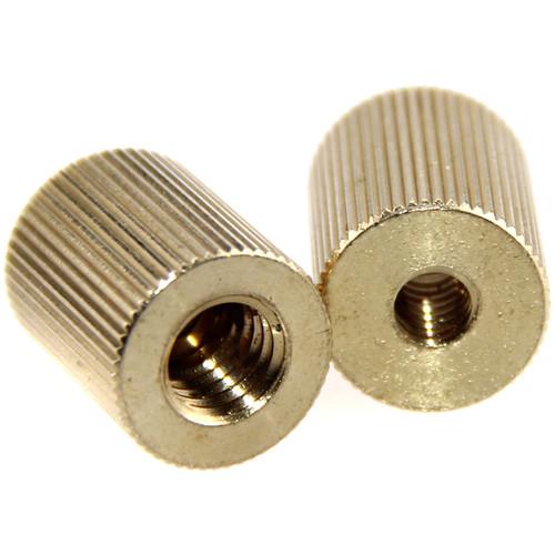 "CAMVATE 3/8""-16 Female to 1/4""-20 Female Thread Adapter (2-Pack)"