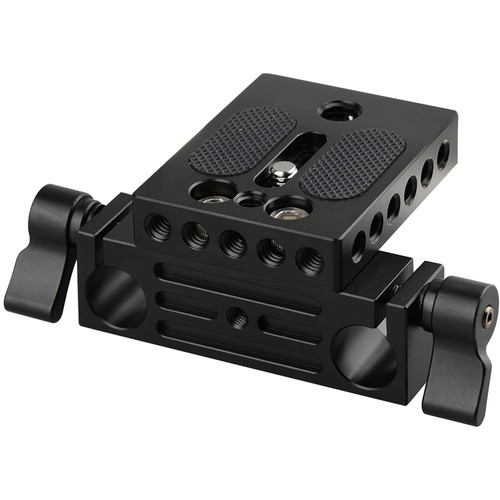 CAMVATE Baseplate with Railblock for 15mm LWS Rods