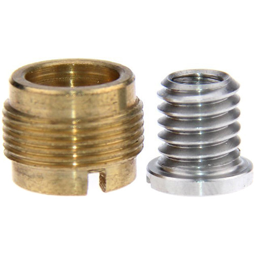 """CAMVATE 3/8""""-16 to 5/8""""-27 & 3/8""""-16 to 1/4""""-20 Screw Adapter Set"""