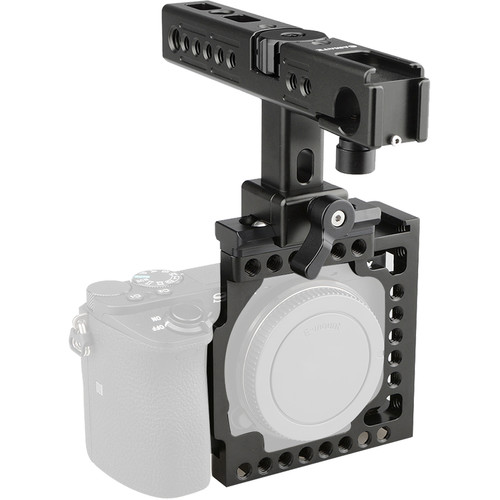 CAMVATE Handheld Cage Rig for Select Sony Cameras (Black)