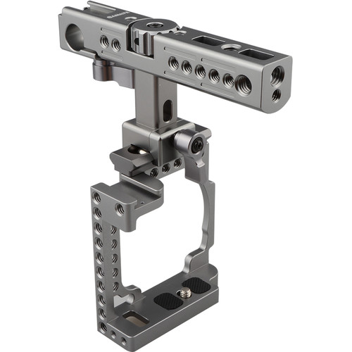 CAMVATE Handheld Cage Rig for Select Sony Cameras (Silver Gray)