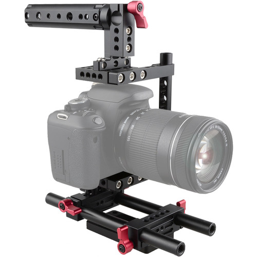 CAMVATE Cage with Rotatable Handlegrip for Sony A7R2/A7S2/A72
