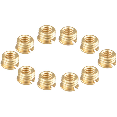"""CAMVATE 1/4""""-20 Female To 3/8""""-16 Male Screw Adapter For Tripod (10-Pack)"""