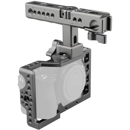 CAMVATE 6500NY Cage with QR Cheese Handle for Sony a6500