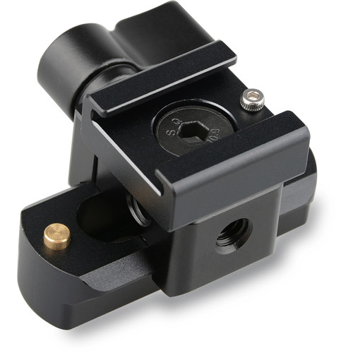 CAMVATE Quick Release Clamp & Cold Shoe Mount Adapter (Black Wingnut)