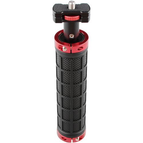 "CAMVATE Handle Grip/Micro Rod Mount Holder 1/4""-20 Thread with Large Knurled Edge Lock Nut"
