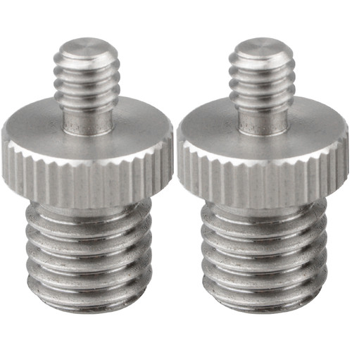"""CAMVATE 1/4""""-20 Male to M12 Male Double-End Adapter"""