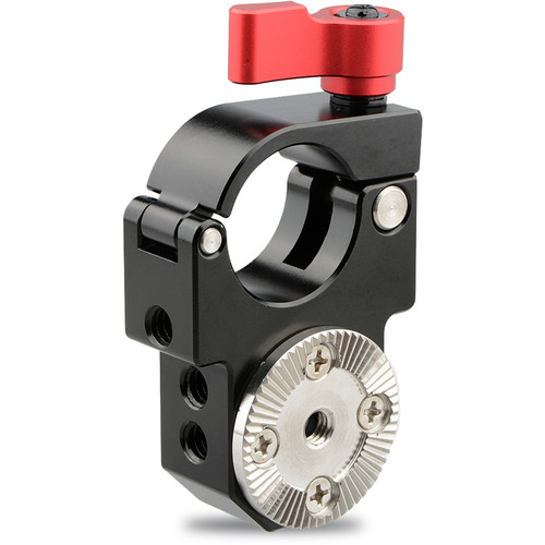 CAMVATE 25mm Single Rod Clamp with Arri Rosette Lock for Ronin-M Gimbal Stabilizer (Red Thumbscrew)