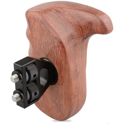 CAMVATE Wooden Handgrip for DSLR Camera Cage (Right Hand)