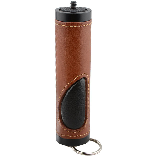 CAMVATE Leather Handgrip with Removable Split Ring