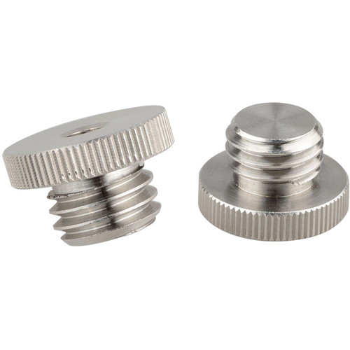 """CAMVATE 1/4""""-20 to 5/8""""-11 Threaded Screw Adapter for Tripod Laser Level Adapter Bosch (2-pack)"""