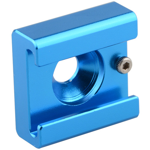 """CAMVATE C1676 1/4""""-20 Mount to Shoe Adapter (Blue)"""