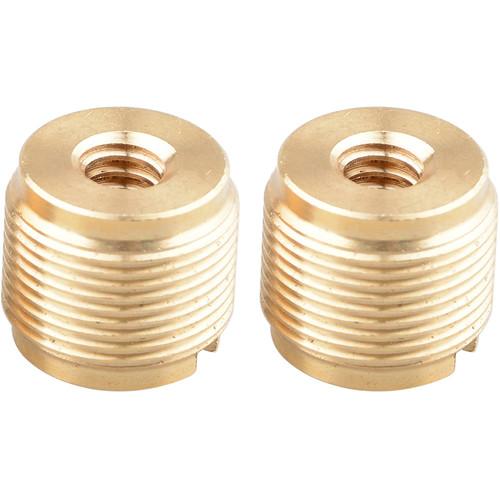 "CAMVATE 1/4""-20 Female to 5/8""-27 Male Mic Adapter (2-Pack)"