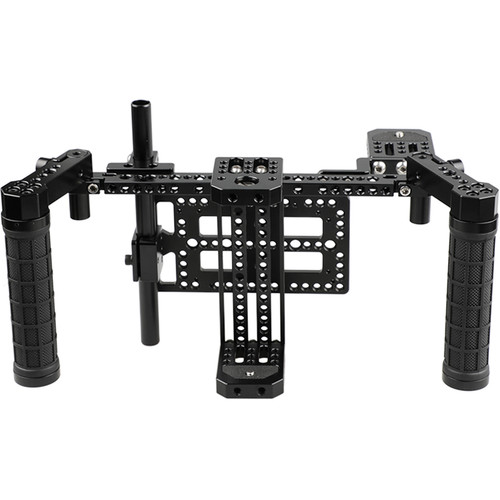 CAMVATE Director's Monitor Cage Kit with Adjustable Rack