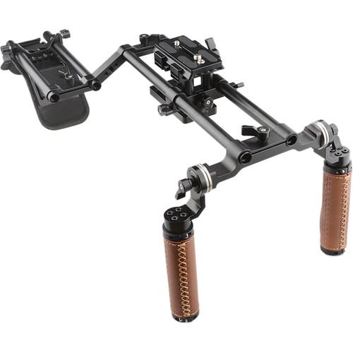 CAMVATE DSLR Shoulder Mount Rig with Dual Handgrip Support Kit