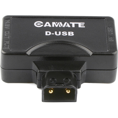 CAMVATE D-Tap to 5V USB Adapter with D-Tap Output