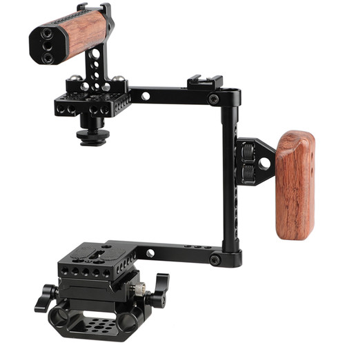 CAMVATE Quick Release Cage Kit (Right-Side Wood Handgrip)