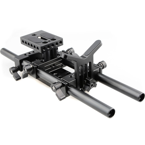 CAMVATE Shoulder Rig with 15mm Rod System and Lens Support