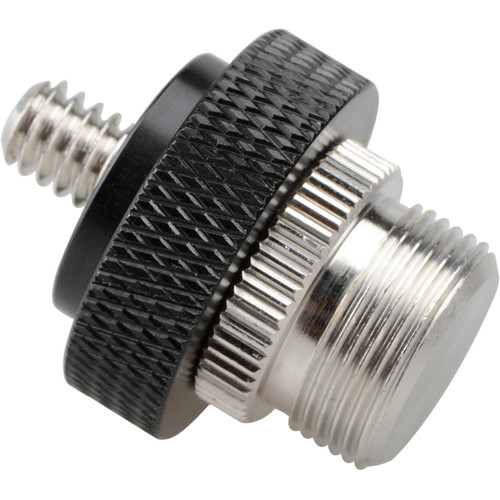 "CAMVATE 5/8""-27 Male to 1/4""-20 Male Adapter"