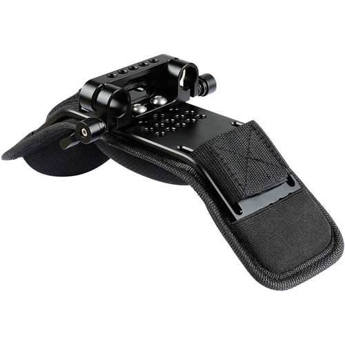 CAMVATE Shoulder Pad with Integrated Mounting Plate & Dual-Rod Clamp