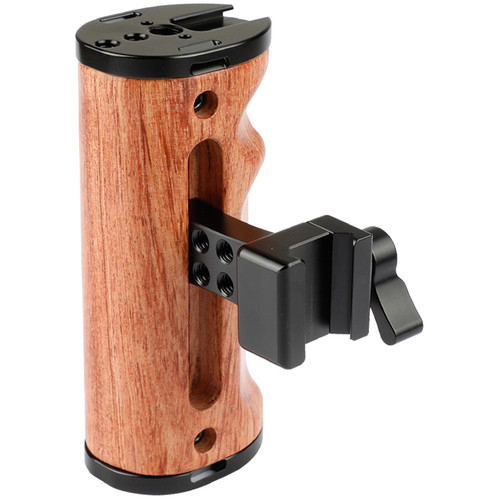 CAMVATE Dual-Use Wooden Handle With Nato Clamp