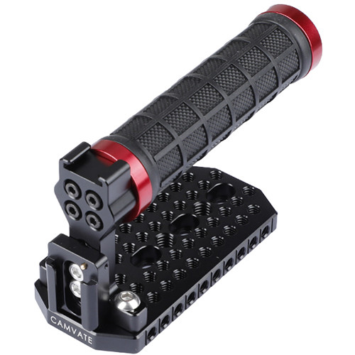 CAMVATE Handle Grip Top Plate For BMD (Red Rings)