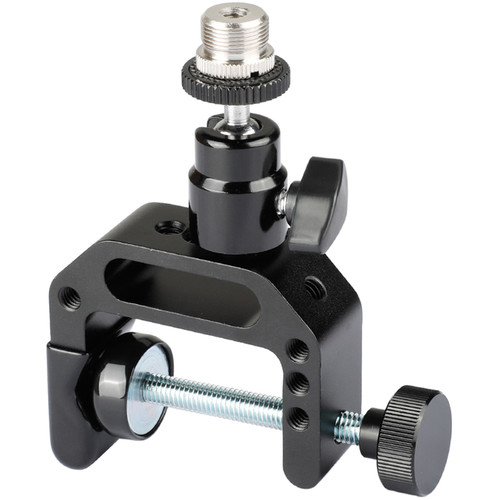 """CAMVATE C-Clamp with 5/8""""-27 Ball Head Mount for Microphone Holder"""