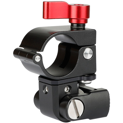 """CAMVATE 25mm Rod Clamp with 1/4""""-20 Male Screw Mount"""