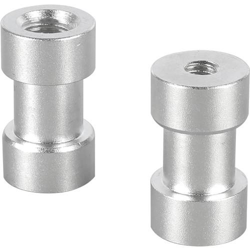 "CAMVATE 1/4""-20 Female to 3/8""-16 Female Thread Adapter (2-Pack)"